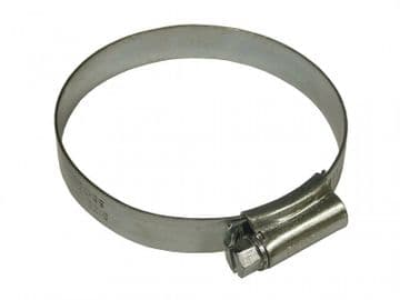 3 Stainless Steel Hose Clip 55 - 70mm